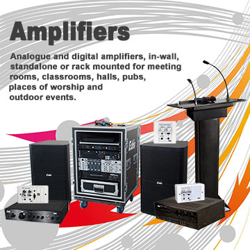 Amplifiers - Edis Audio Visual