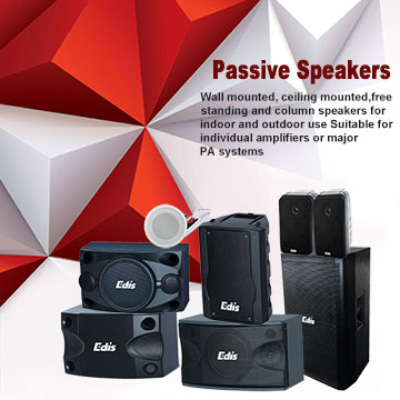 Passive Speakers - Edis Audio Visual