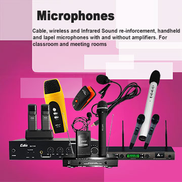 Microphones - Edis Audio visual