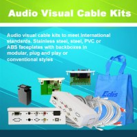 Plug and play cable box for Audio Visual Cables